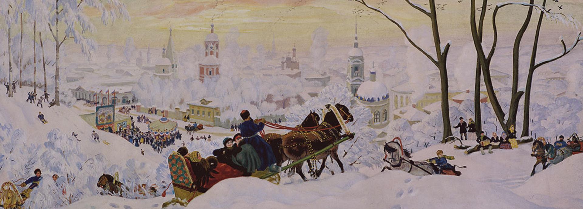 Картина Масленица