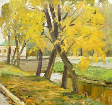 Осень в Петергофе