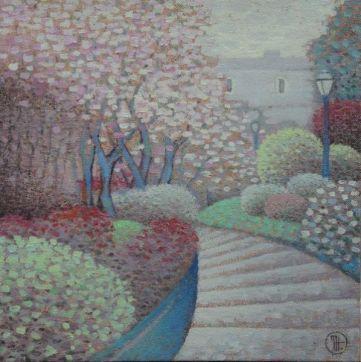 Цветущий Монмартр