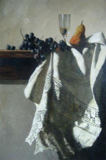 Виноград и груша