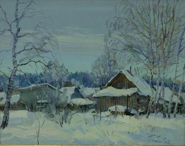 Светлая зима в Лизареве