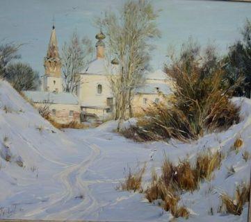 Зимний день в Суздали