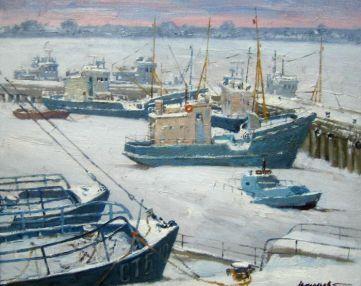 Зима на Ладоге
