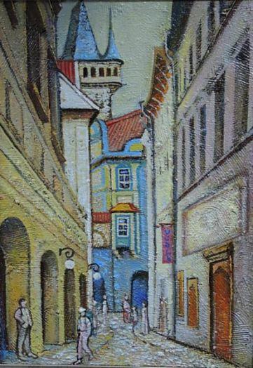 Прага. Улица Михальская