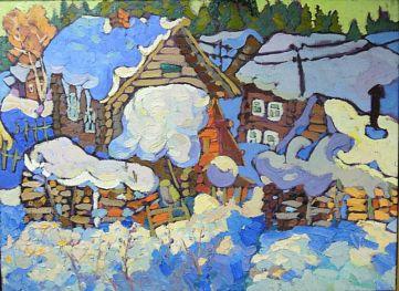 Грибановское. Большие снега