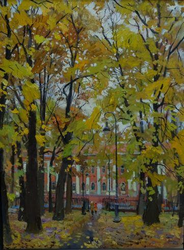 Осень в Румянцевском