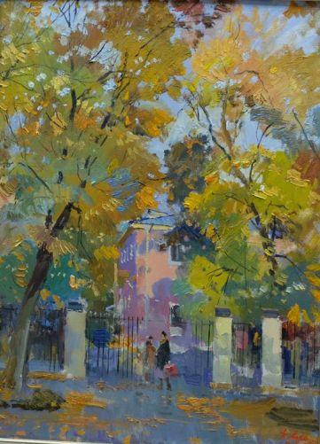 Осень на Васильевском